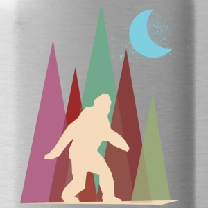 abstract big foot - Water Bottle