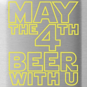 May the 4th beer with you - Funny t-shirt - Water Bottle