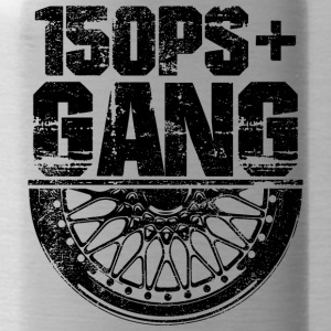 150 PS Gang Black - Trinkflasche