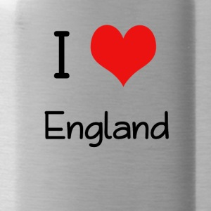 I Love England - Trinkflasche