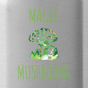 Magic mushrooms Magic mushrooms Fly mushrooms - Water Bottle