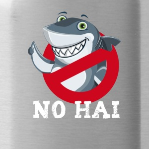 No hai comic cute fish forbade shield wild the - Water Bottle