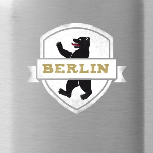 Berlin bear capital travel souvenir wall coat of arms - Water Bottle