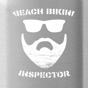 Beach Bikini Inspector - Water Bottle