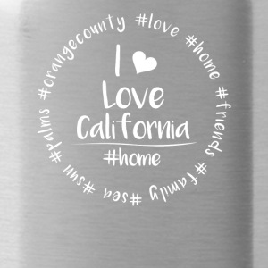 I love California - Orange County - Water Bottle