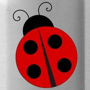 Ladybug with four black dots - Water Bottle