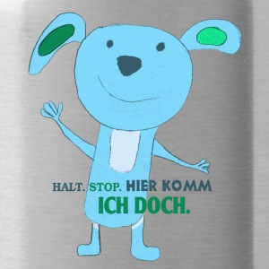 Funny Mouse Laki - Stop. Stop. I do. - Water Bottle