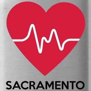 heart Sacramento - Water Bottle