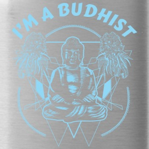 Im a budhist - Water Bottle