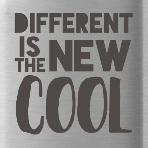Hipster: Different is the new Cool - Trinkflasche