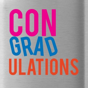 High School / Graduation: Gefeliciteerd - Drinkfles