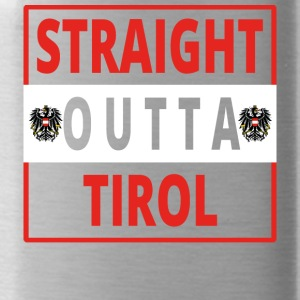 Straight outta Tirol - Water Bottle