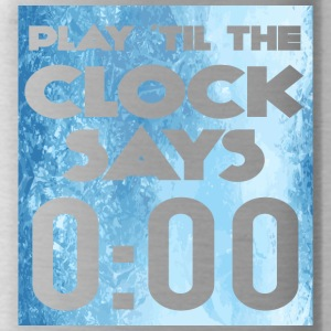 Eishockey: Play ´til the clock says 0:00 - Trinkflasche