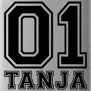 Tanja - Name - Water Bottle