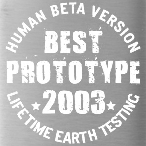 2003 - The birth year of legendary prototypes - Water Bottle
