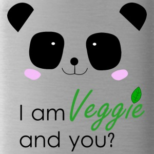 Panda Power - Veggie - Water Bottle