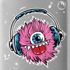 Pink Monster - Water Bottle