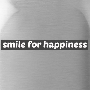 smile for happiness - Vattenflaska