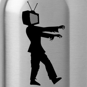 TELEVISION IS THE POOP 2HP - Water Bottle