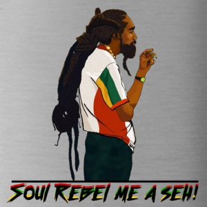 Soul Rebel rastaman - Water Bottle