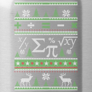 Mathematiker Ugly Christmas - Trinkflasche