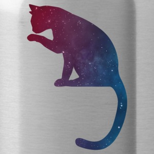 Cat logo stars - Water Bottle