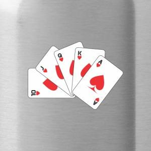 playing card - Water Bottle