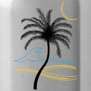 Palm summer holidays - Water Bottle