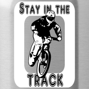 Stay in the track sw - Water Bottle