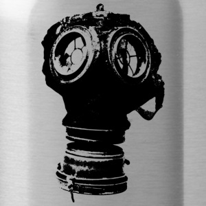 gas-mask2 - Water Bottle