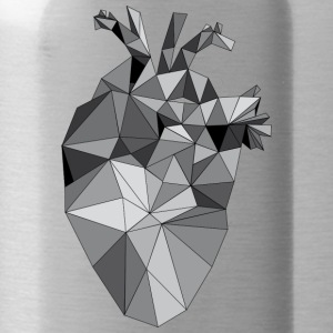 Graphic Heart - Drinkfles