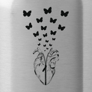 HEART BUTTERFLY - Borraccia