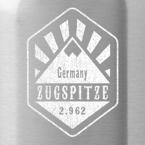 Zugspitze coat of arms - white - Water Bottle