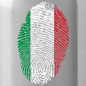 Imprint Italy / footprint Italian Flag - Water Bottle