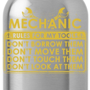 Mechanic tool lines - Water Bottle