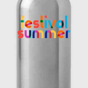 festival summer - Water Bottle