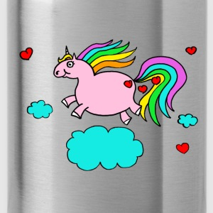 Thick unicorn - Water Bottle