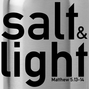 Salt & Light - Matteus 5: 13-14 - Vattenflaska