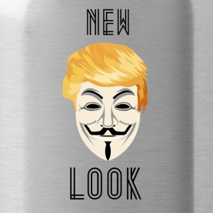 New Look Transparent / Anonymous Trump - Water Bottle