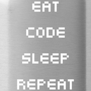 Eat Sleep Code Repeat - Gourde