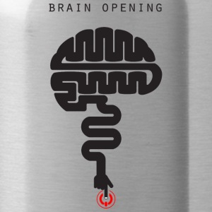 T-shirt-brain_file_stampa - Water Bottle