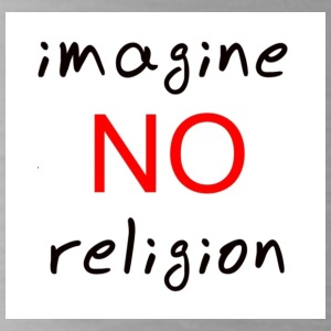 no religion - Water Bottle