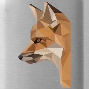 low poly fox - Water Bottle