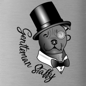 gentleman Staffy - Drinkfles