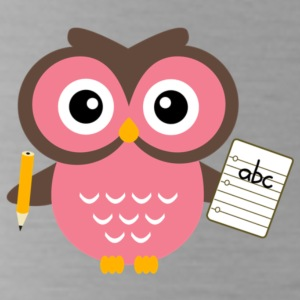 Back to School Owl - Water Bottle