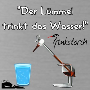 The Lümmel Drinks the water - Water Bottle