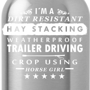 horse Girl - Water Bottle