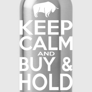 Keep Calm and Buy - Hold - Trinkflasche
