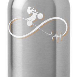 Motocross design / gift - Water Bottle