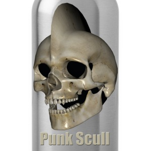 Punk Skull - Drinkfles